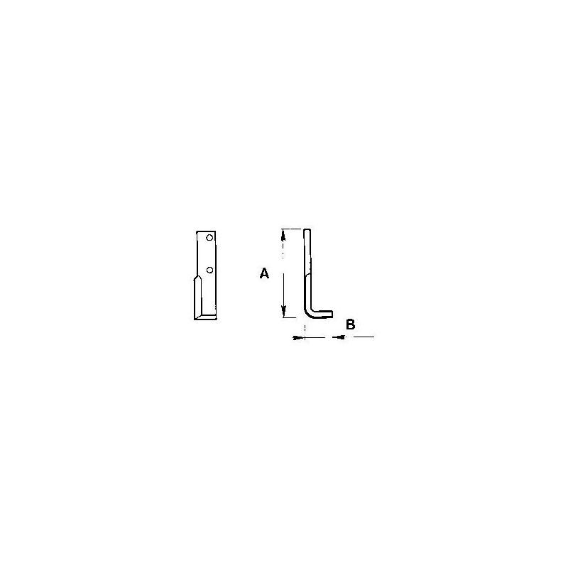 Zappetta per MAB Formica H p5 2523 - KIT DA 10 ZAPPE