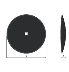 """DISCO LISCIO 560 (22"""")"""