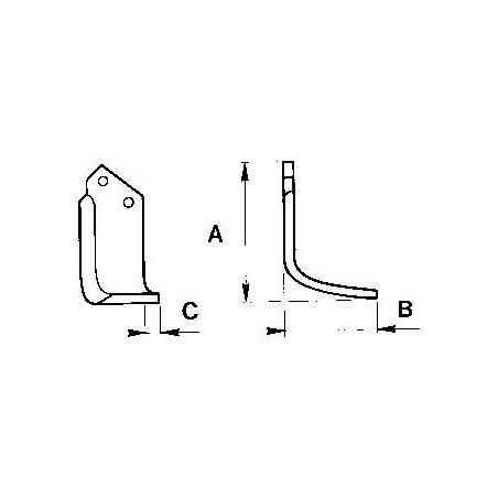 Zappetta per Celli Tipo E - HV - HF 422514/15