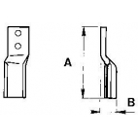 Breviglieri dente per verticalfresa - KIT DA 10 ZAPPE