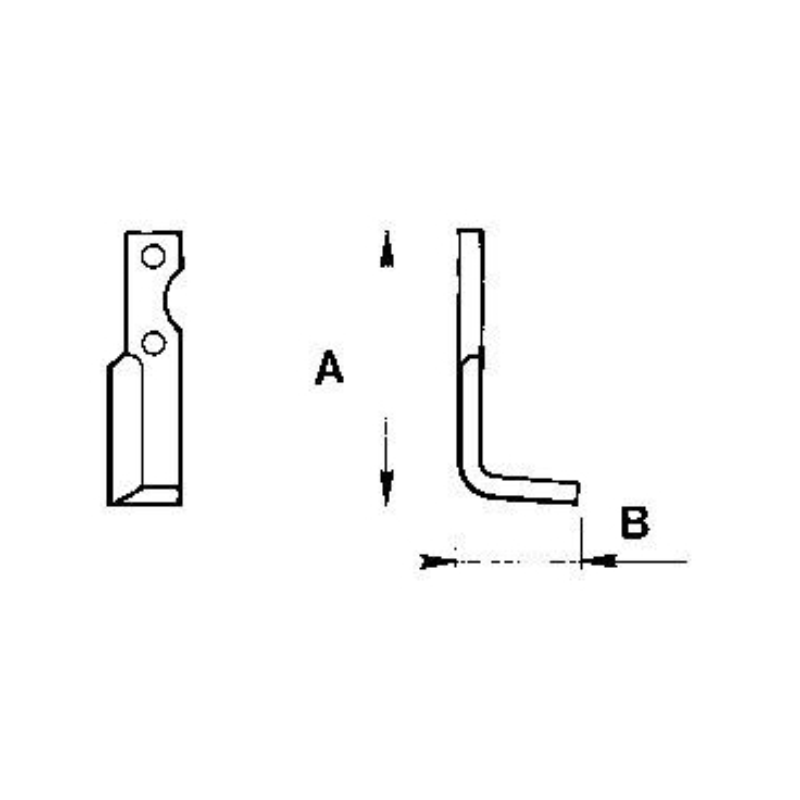 Zappetta per Benassi BL 75 n.t./bl 85 6cm 004/005
