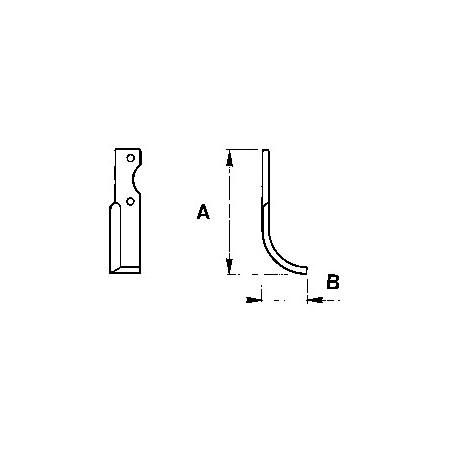 Zappetta per Pasbo G51-G21-G62-G2-H p5 - KIT DA 10 ZAPPE