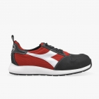 SCARPA DIADORA ANTINFORTUNISTICA D-LIFT LOW PRO S1P SRC HRO ESD - COLORE: BLACK/RED (C1462)