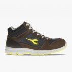 SCARPA DIADORA ANTINFORTUNISTICA RUN HIGH S3 SRC (MARRONE SCURO/BLU MAIOLICA)