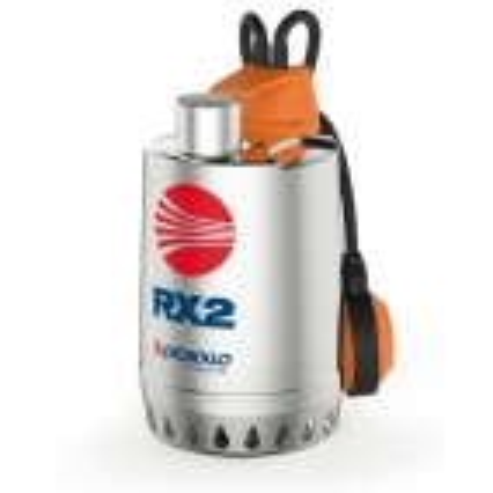 PEDROLLO RXm 3 Elettropompa sommergibile da DRENAGGIO per acque chiare MONOFASE 0.75 HP