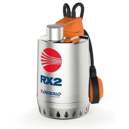 PEDROLLO RX 2 Elettropompa sommergibile da DRENAGGIO per acque chiare TRIFASE 0.5 HP