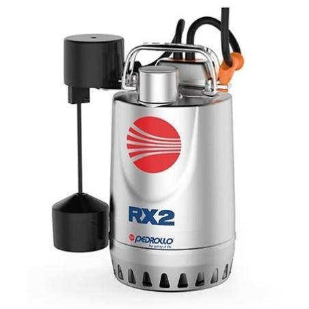 PEDROLLO RXm 3-GM Elettropompa sommergibile per acque chiare con galleggiante magnetico MONOFASE 0.75 HP