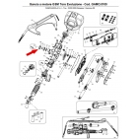 CAMPAGNOLA - Tappo chiusura sede corona con Or, ricambio per GSM Toro Evoluzione